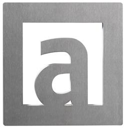 "Letter ""A"" 60 mm x 60 mm"